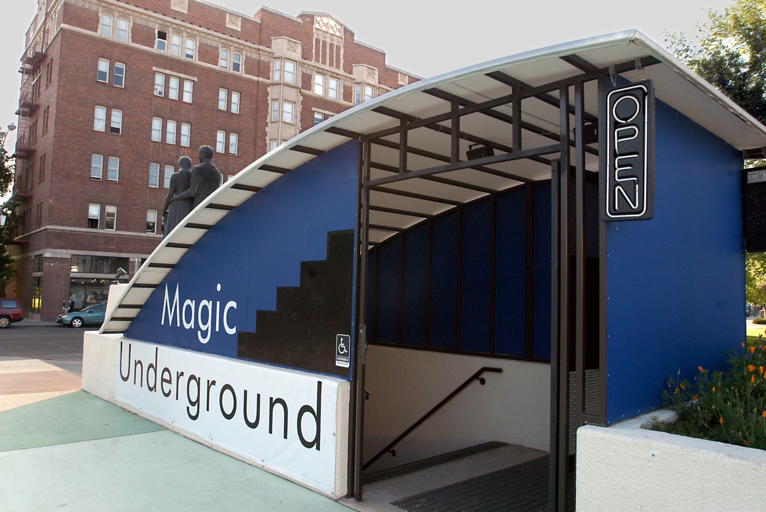 Magic Underground Theater Exterior