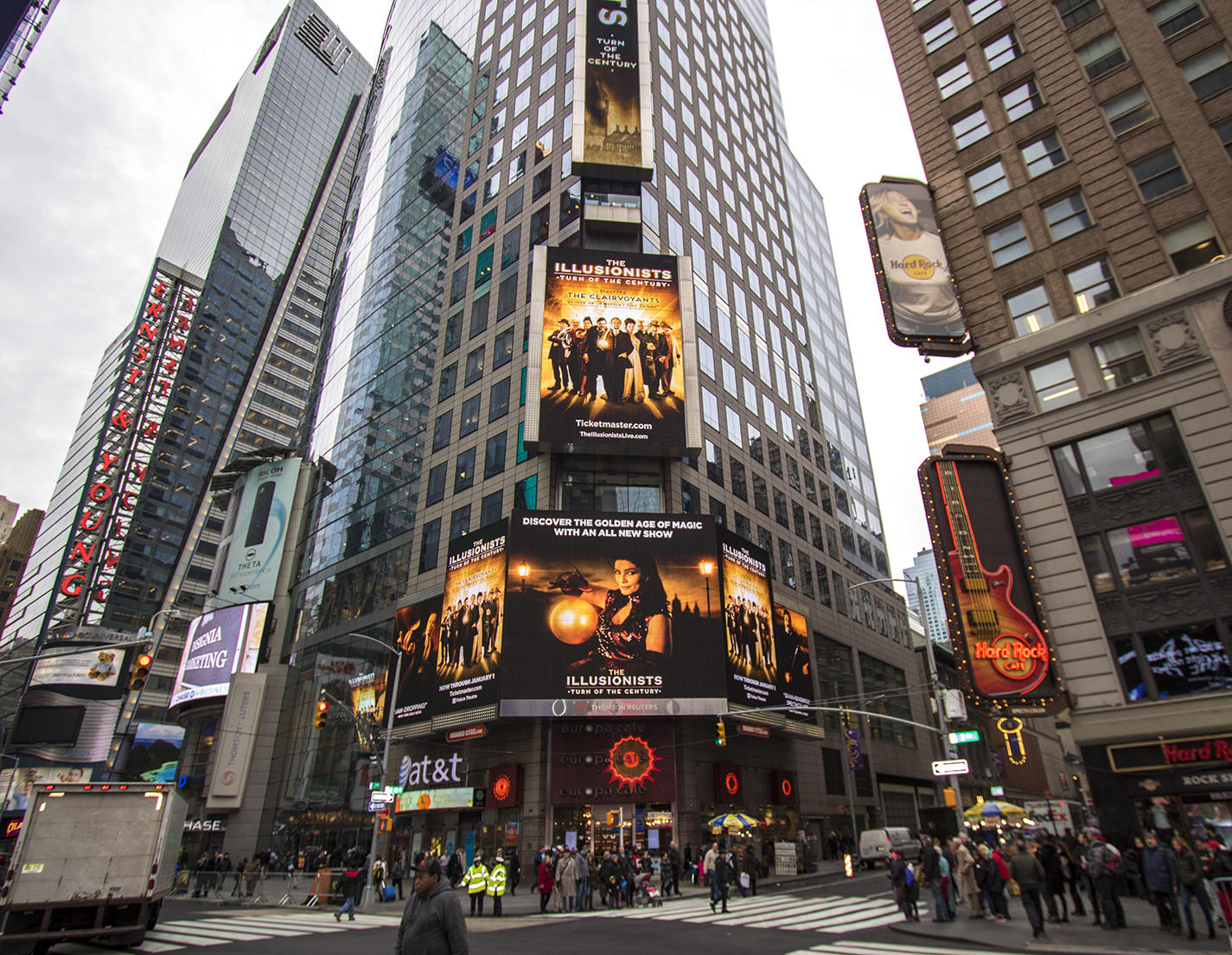 The Illusionists: Turn of the Century - Times Square, NYC